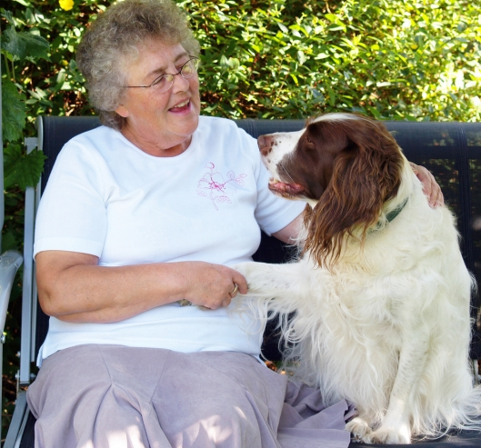 Seniors and retirees can volunteer and spend time with the animals. Photo Credit: Peter Baxter